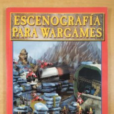 Juegos Antiguos: ESCENOGRAFÍA PARA WARGAMES / GAMES WORKSHOP. Lote 297083693