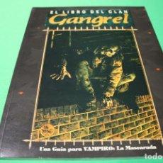 Juegos Antiguos: LIBRO DE ROL: VAMPIRO LA MASCARADA. EL LIBRO DEL CLAN GANGREL (LA FACTORÍA). Lote 297107323