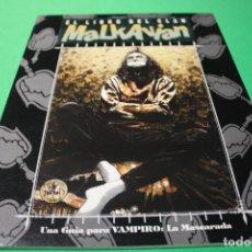 Juegos Antiguos: LIBRO DE ROL: VAMPIRO LA MASCARADA. EL LIBRO DEL CLAN MALKAVIAN (LA FACTORÍA). Lote 297107373