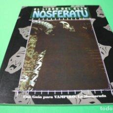 Juegos Antiguos: LIBRO DE ROL: VAMPIRO LA MASCARADA. EL LIBRO DEL CLAN NOSFERATU (LA FACTORÍA). Lote 297107413
