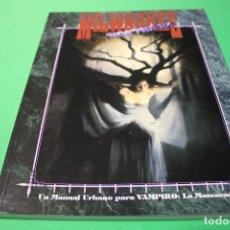 Juegos Antiguos: LIBRO DE ROL: VAMPIRO LA MASCARADA. MILWAUKEE NOCTURNO (LA FACTORÍA). Lote 297108893