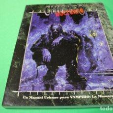 Juegos Antiguos: LIBRO DE ROL: VAMPIRO LA MASCARADA. CHICAGO NOCTURNO (LA FACTORÍA). Lote 297108948