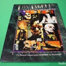 Juegos Antiguos: LIBRO DE ROL: VAMPIRO LA MASCARADA. LOS ÁNGELES NOCTURNO (LA FACTORÍA). Lote 297109158