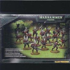 Juegos Antiguos: WARHAMMER 40000 GUERREROS ELDARS OSCUROS. Lote 17344129