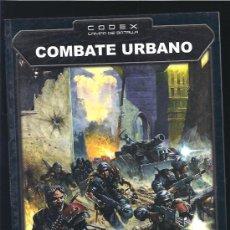 Juegos Antiguos: WARHAMMER 40000 LIBRO COMBATE URBANO. Lote 17678561