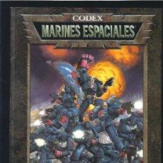 Juegos Antiguos: WARHAMMER 40000 CODEX MARINES ESPACIALES. Lote 17678807