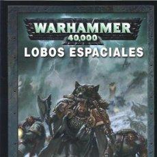 Juegos Antiguos: WARHAMMER 40000 CODEX LOBOS ESPACIALES. Lote 17679017