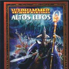 Juegos Antiguos: WARHAMMER CODEX ALTOS ELFOS. Lote 17679977