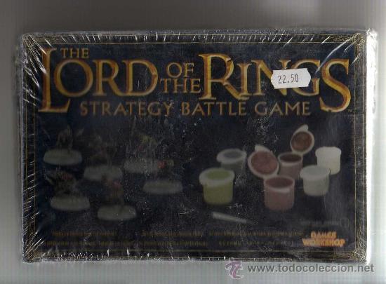 THE LORD OF THE RINGS, STRATEGY BATTLE GAME, MINAS DE MORIA - CAJA PARA ESTRENAR (Juguetes - Rol y Estrategia - Warhammer)