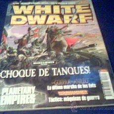 Juegos Antiguos: WHITE DWARF. Nº 172. AGOSTO 2009. REVISTA DE 120 PAGINAS.. Lote 21032022