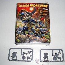 Juegos Antiguos: WARHAMMER ANTIGUOS MONSTRUOS DEL PANTANO 8 MINIATURAS PLASTICO GAME WORKSHOP - ARTICULO NUEVO. Lote 114913551