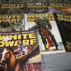 Juegos Antiguos: LOTE 7 REVISTAS WHITE DWARF (SIN FIGURAS) - NºS 101, 108, 109, 116, 118, 120, 140 . Lote 24920983