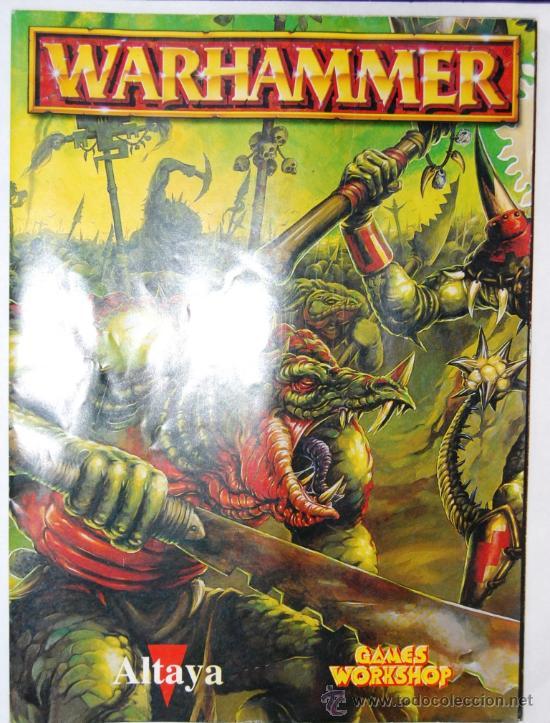 MAPA EL MUNDO DE WARHAMMER DE LA COLECCION ALTAYA (Juguetes - Rol y Estrategia - Warhammer)