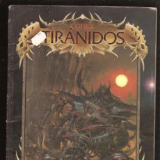 Juegos Antiguos: WARHAMMER LIBRO TIRANIDOS. Lote 29631994