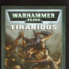 Juegos Antiguos: WARHAMMER LIBRO TIRANIDOS. Lote 29632052