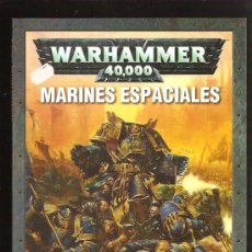 Juegos Antiguos: WARHAMMER LIBRO MARINES ESPACIALES. Lote 29632130