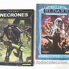 Juegos Antiguos: CODEX. NECRONES Y ELDARS. GAMES WORKSHOP. WARHAMMER 40.000.. Lote 32329735