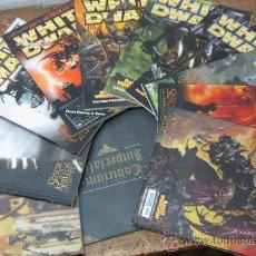 Juegos Antiguos: LOTE 10 REVISTAS DE WHITE DWARF GAMES WORKSHOP BATALLAS 2001- CODICIUM IMPERIALIS WARHAMMER. Lote 112899246