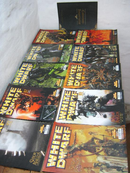 Juegos Antiguos: lote 10 REVISTAS DE WHITE DWARF games workshop batallas 2001- codicium imperialis warhammer - Foto 2 - 112899246
