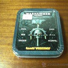 Juegos Antiguos: WARHAMMER 40.000 - LATA DE 9 DADOS / NUEVO SIN DESPRECINTAR / CITADEL / GAMES WORKSHOP. Lote 33060352