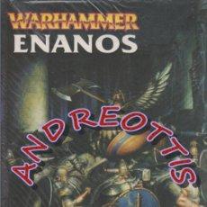 Juegos Antiguos: ENANOS, LIBRO DE ROL, SERIE WARHAMMER, GAMES WORKSHOP. Lote 33129256