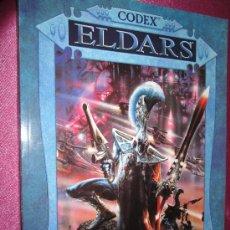 Juegos Antiguos: CODEX ELDARS WARHAMMER GAMES WORKSHOP . Lote 35177309