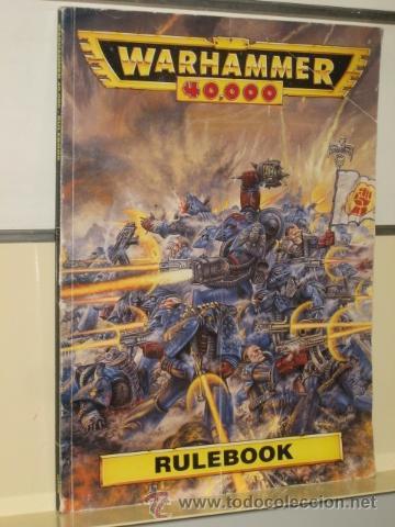 WARHAMMER 40,000 RULEBOOK GAMES WORKSHOP AÑO 1993 (EN INGLES) OFERTA segunda mano