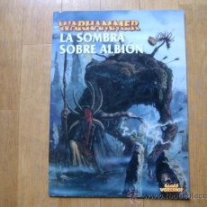 Juegos Antiguos: WARHAMMER - LA SOMBRA SOBRE ALBIÓN - GAMES WORKSHOP. Lote 35703841