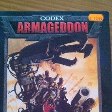 Juegos Antiguos: CODEX ARMAGEDDON WARHAMMER 40000 - GAMES WORKSHOP - GW 40K. Lote 35879498