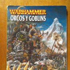 Juegos Antiguos: EJERCITOS WARHAMMER , ORCOS Y GOBLINS , GAMES WORKSHOP , ROL. Lote 36748130