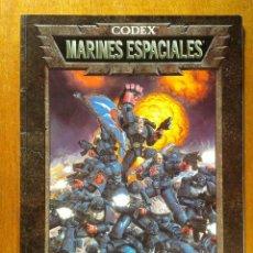 Juegos Antiguos: CODEX MARINES ESPACIALES , EJERCITOS WARHAMMER 40000 , GAMES WORKSHOP , ROL. Lote 36748174