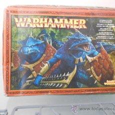 Juegos Antiguos: WARHAMMER REGIMIENTOS HOMBRES LAGARTOS. 2004. DESCATALOGADO. Lote 36851895