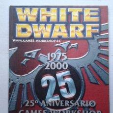 Juegos Antiguos: REVISTA MENSUAL .WHITE DWARF Nº 61- GAMES WORKSHOP WARHAMMER .MAYO 2000. Lote 37430262