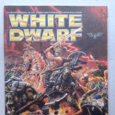 Juegos Antiguos: REVISTA MENSUAL .WHITE DWARF Nº 66- GAMES WORKSHOP WARHAMMER .OCTUBRE 2000. Lote 37430422