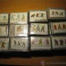 Juegos Antiguos: 24 MOLDES PARA HACER SOLDADITOS DE PLOMO - TEMA FANTASIA 64 FIGURAS - ESCALA 30 MIL.- VER FOTOS. Lote 38157924