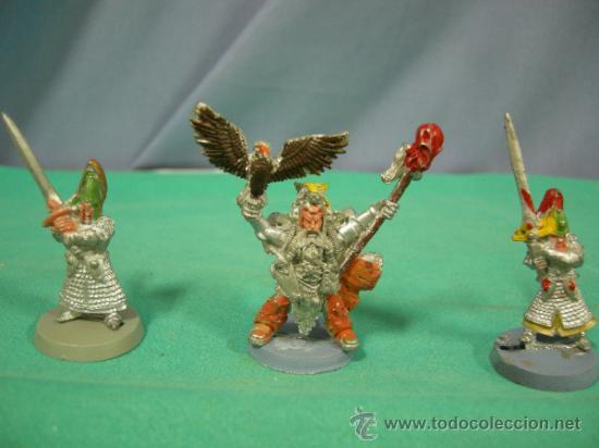 3 FIGURAS DE PLOMO, WARHAMMER1992 (Juguetes - Rol y Estrategia - Warhammer)