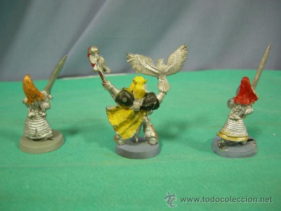 Juegos Antiguos: 3 FIGURAS DE PLOMO, WARHAMMER1992 - Foto 5 - 38203797