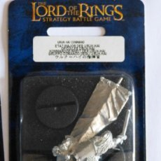 Juegos Antiguos: GAMES WORKSHOP: LORD OF THE RING, STRATEGY BATTLE GAME: URUK-HAI COMMAND , NUEVO, NEW. Lote 98456428