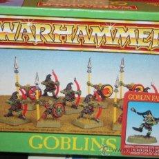 Juegos Antiguos: WARHAMMER GOBLINS. Lote 189615991