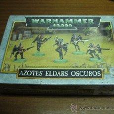 Juegos Antiguos: WARHAMMER 40000 / AZOTES ELDARS OSCUROS / GAMES WORKSHOP. Lote 39276909