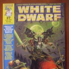 Juegos Antiguos: REVISTA WHITE DWARF, NUMERO 27. Lote 39362233
