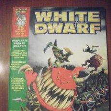 Juegos Antiguos: REVISTA WHITE DWARF, NUMERO 25. Lote 39414488