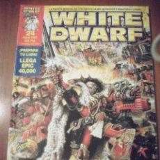 Juegos Antiguos: REVISTA WHITE DWARF, NUMERO 24. Lote 39415027
