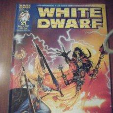 Juegos Antiguos: REVISTA WHITE DWARF, NUMERO 21. Lote 39415064