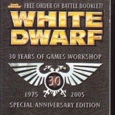 Juegos Antiguos: WHITE DWARF, LOTE 3 EJEMPLARES Nº 279, 290, 304 ( EDICION EN INGLES ). Lote 39719640