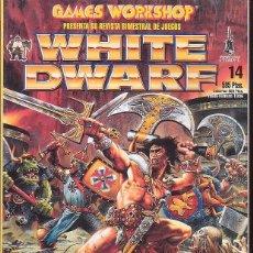 Juegos Antiguos: WHITE DWARF Nº 14. Lote 39719706