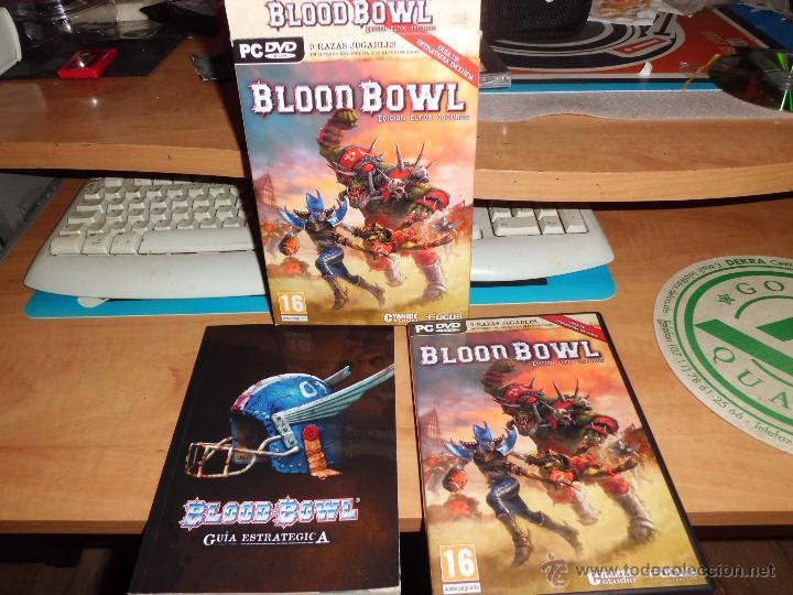 WARHAMMER BLOOD BOWL PC DVD EDICION ELFOS OSCUROS CON FANTASTICA GUIA ESTRATEGICA (Juguetes - Rol y Estrategia - Warhammer)