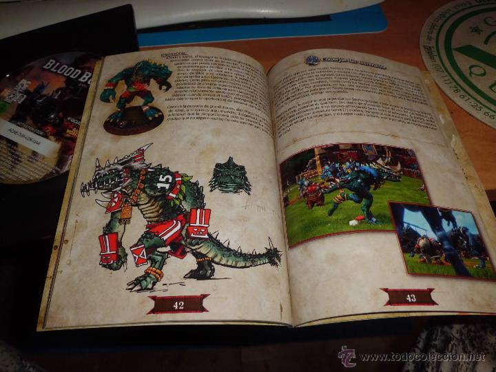 Juegos Antiguos: warhammer blood bowl pc dvd edicion elfos oscuros con fantastica guia estrategica - Foto 3 - 40828216