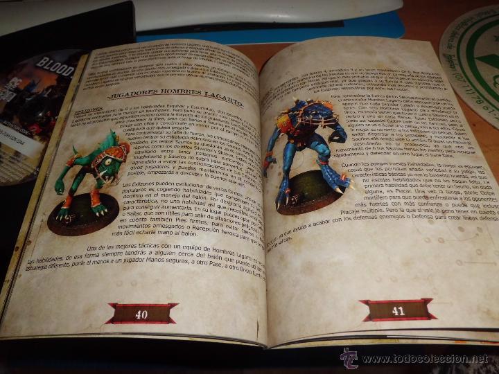 Juegos Antiguos: warhammer blood bowl pc dvd edicion elfos oscuros con fantastica guia estrategica - Foto 4 - 40828216