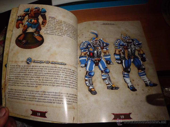 Juegos Antiguos: warhammer blood bowl pc dvd edicion elfos oscuros con fantastica guia estrategica - Foto 5 - 40828216